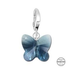Висулка Пеперуда Swarovski® Crystals
