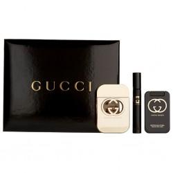 Gucci Guilty тоалетна вода 75мл + лосион за тяло 100мл+ мини тоалетна вода 7 мл