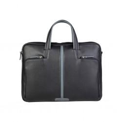 Мъжка кожена бизнес чанта Piquadro