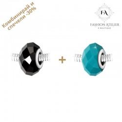 Промо комплект от 2 талисмана: бохемски кристал