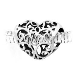 Талисман Сърце от неръждаема стомана